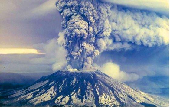 مقاله در مورد آتشفشان