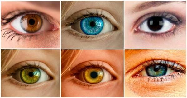 شخصيت شناسی از روی رنگ چشم ها